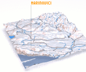 3d view of Marinovići