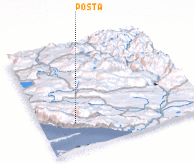 3d view of Pošta