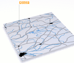 3d view of Górka