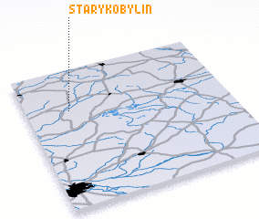 3d view of Stary Kobylin
