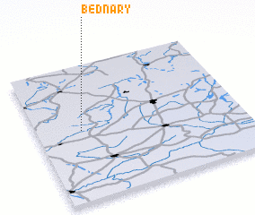 3d view of Bednary