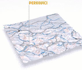 3d view of Perkovići
