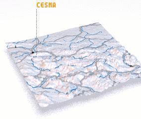 3d view of Česma