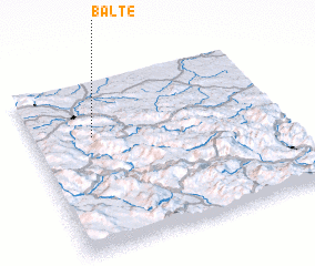 3d view of Balte