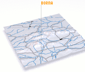 3d view of Borna