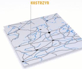 3d view of Kostrzyń