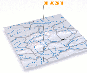 3d view of Briježani