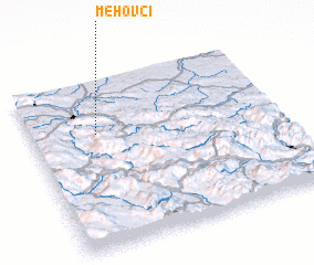 3d view of Mehovci
