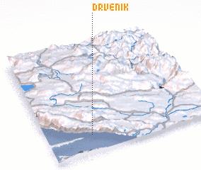 3d view of Drvenik