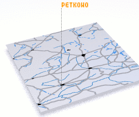 3d view of Pętkowo
