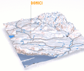 3d view of Domići