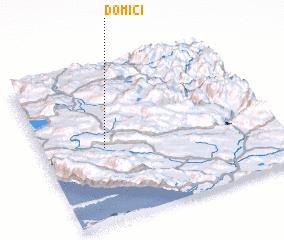 3d view of Domići