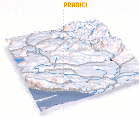 3d view of Pranići