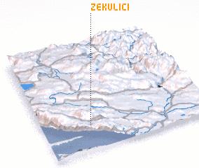 3d view of Zekulići