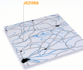 3d view of Jeziora