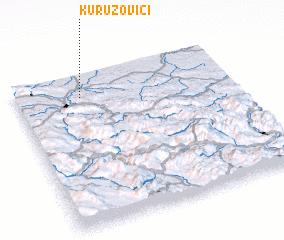 3d view of Kuruzovići