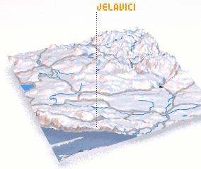 3d view of Jelavići