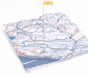 3d view of Šare