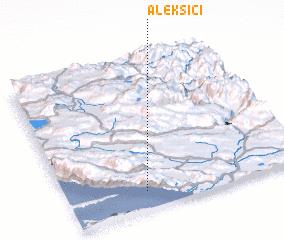 3d view of Aleksići