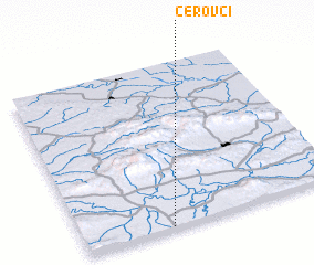 3d view of Cerovci