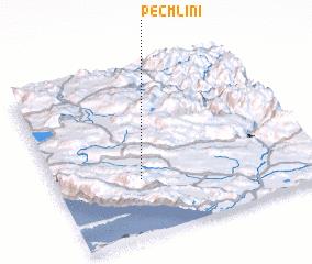 3d view of Peć Mlini