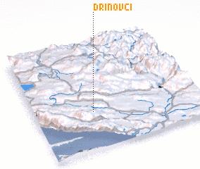 3d view of Drinovci