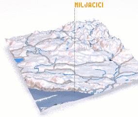 3d view of Miljačići