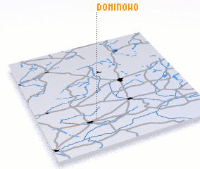 3d view of Dominowo