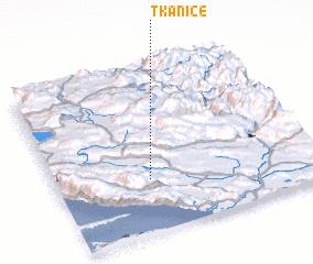3d view of Tkanice