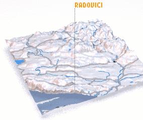 3d view of Radovići