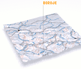 3d view of Boroje