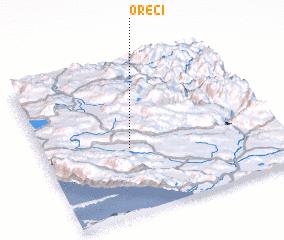 3d view of Oreči
