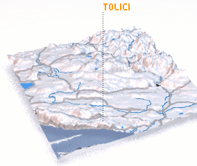 3d view of Tolići