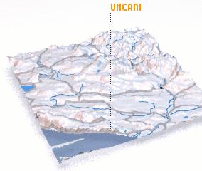 3d view of Umčani