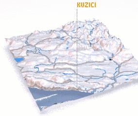 3d view of Kuzići