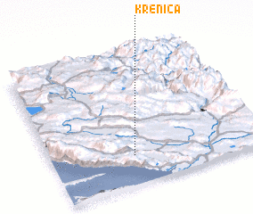 3d view of Krenica