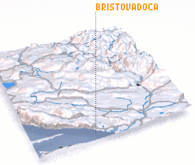 3d view of Bristova Doca