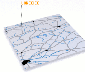 3d view of Łowęcice