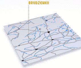 3d view of Brudzewko