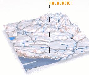 3d view of Kalajdžići