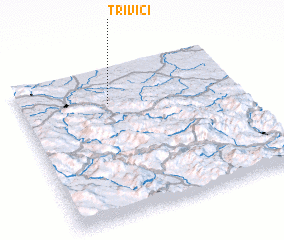3d view of Trivići