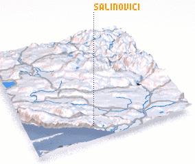 3d view of Šalinovići