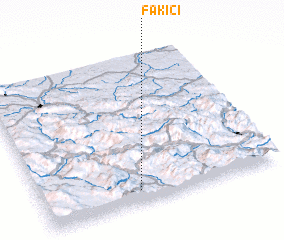 3d view of Fakići