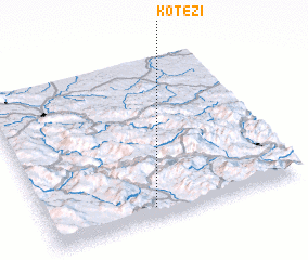 3d view of Kotezi