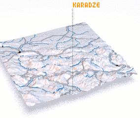 3d view of Karadže