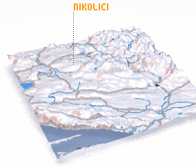 3d view of Nikolići