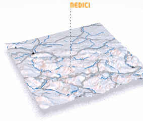 3d view of Nedići