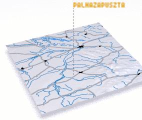 3d view of Pálházapuszta
