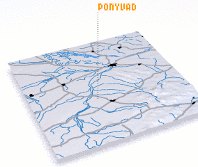 3d view of Ponyvád