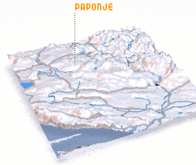3d view of Paponje